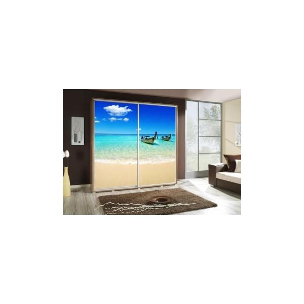 Šatní skříň s pláží Penelopa 28