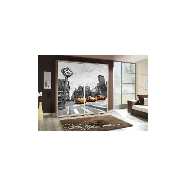 Šatní skříň s obrázkem ulice Penelopa 30