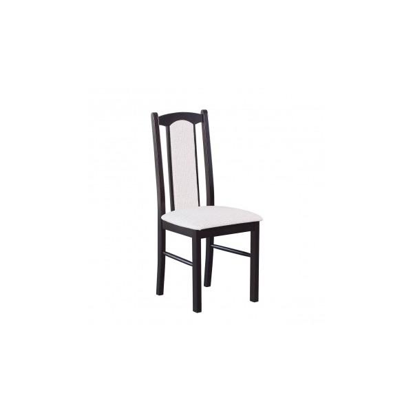 Čalouněná jídelní židle z masivu Tobias