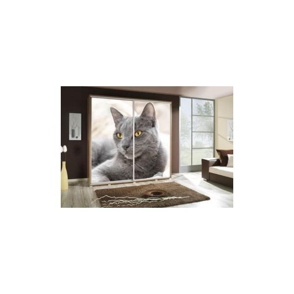 Šatní skříň s motivem kočičky Penelopa 36