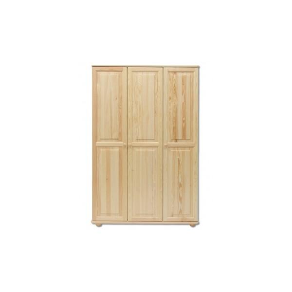 Prostorná třídveřová šatní skříň Avaril