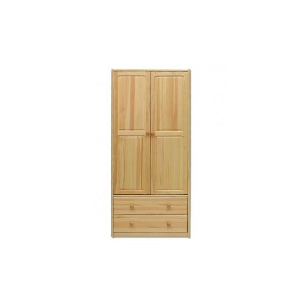 Dřevěná šatní skříň Andra