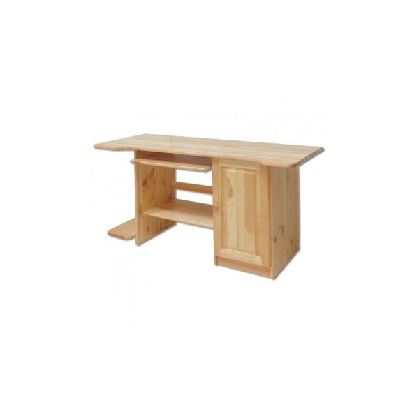 Elegantní masivní psací / počítačový stůl Valto
