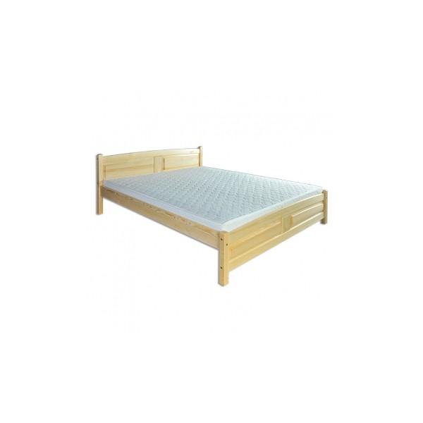 Pohodlná manželská postel Sesil z masivu