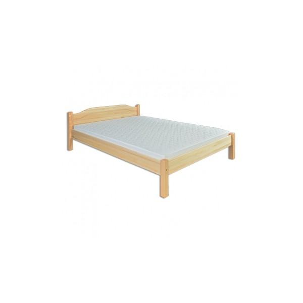 Manželská postel Safir z masivu borovice