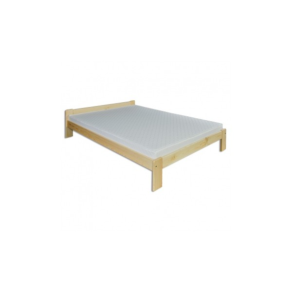 Pohodlná postel z masivu Fortunato