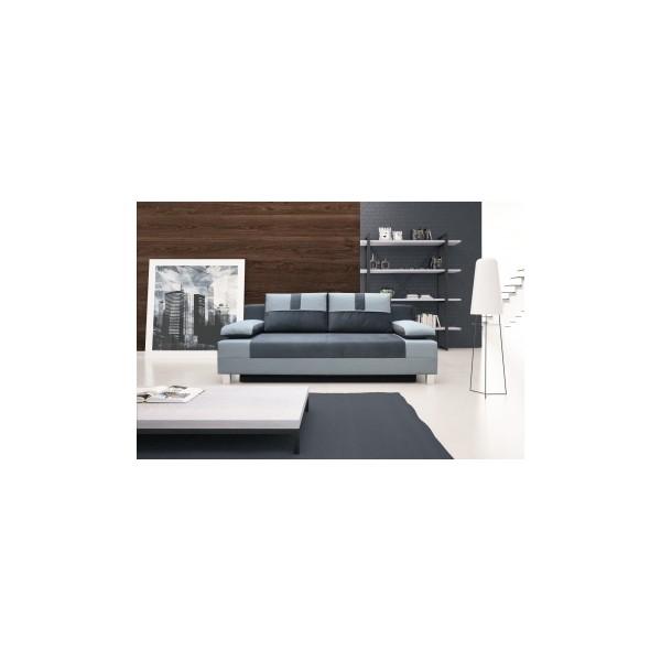 Dvoubarevná pohovka Apolina s úložným prostorem