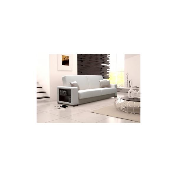 Moderní pohovka Elsea s bočními přihrádkami