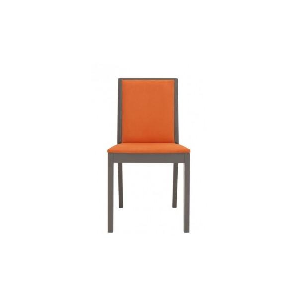Čalouněná jídelní židle Kubik