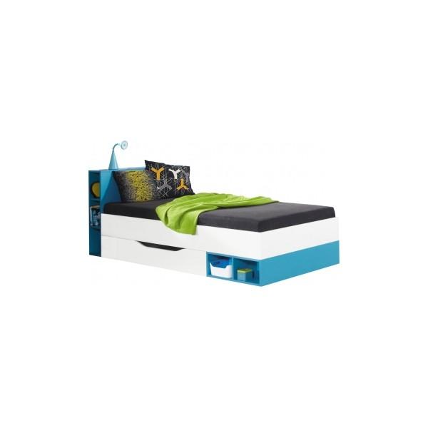 Studentská postel s úložným prostorem Poly 18