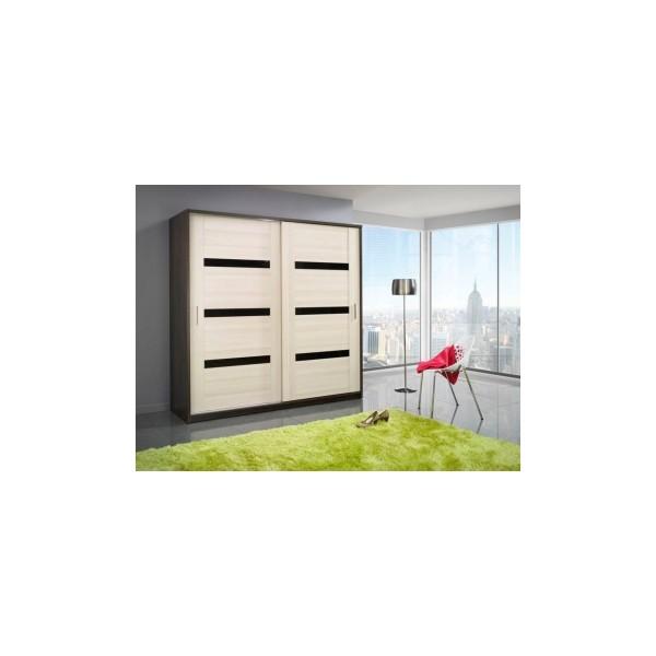 Šatní skříň s posuvnými dveřmi Oreo 2