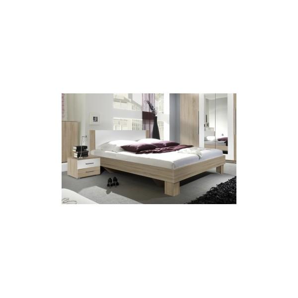 Moderní manželská postel s nočními stolky Veria bds
