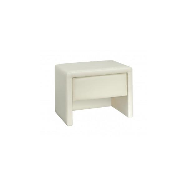 Malý čalouněný noční stolek Alfonso