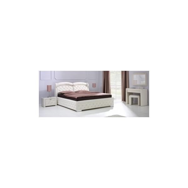 Manželská postel Romano A s úložným prostorem