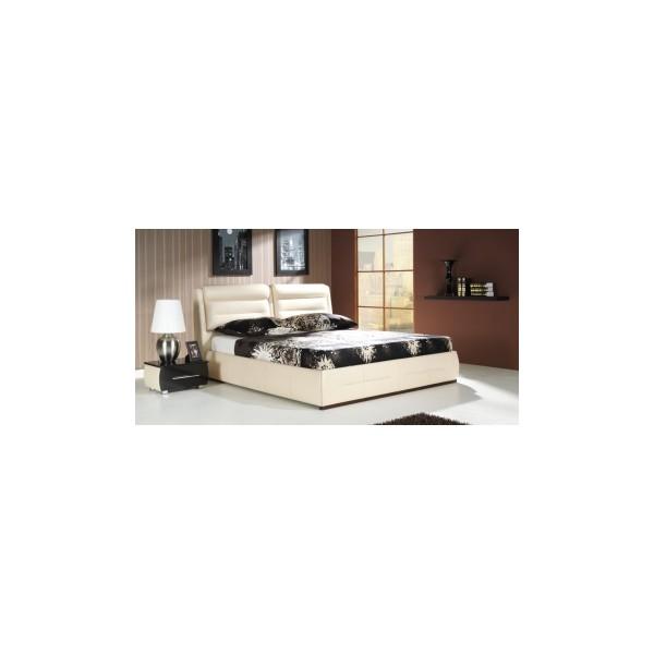 Manželská postel s úložným prostorem Dolores A