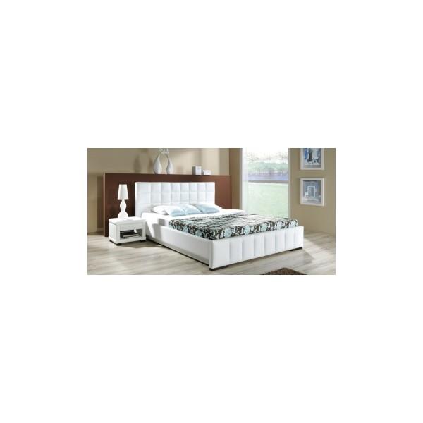 Manželská postel s úložným prostorem Nancy A