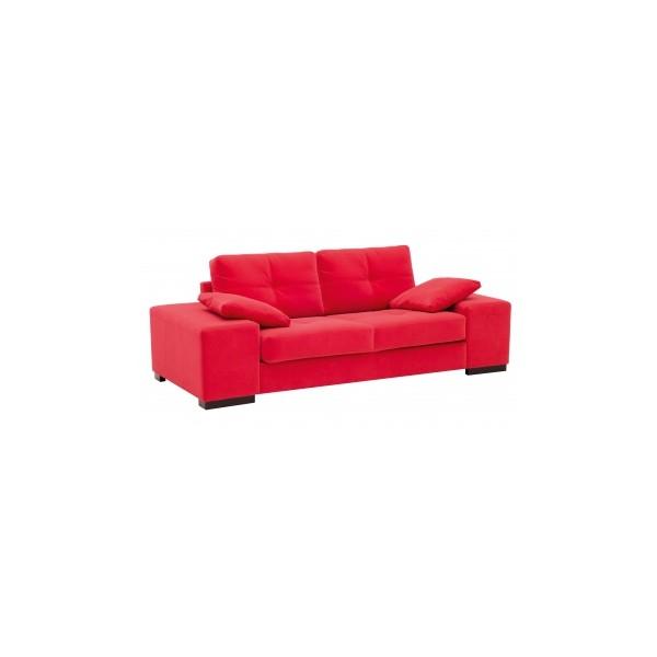 Široké kanape Antonela s opěrnými polštáři