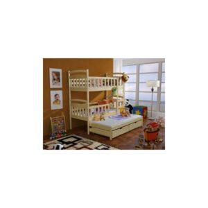 Dětská patrová postel s přistýlkou Aramis