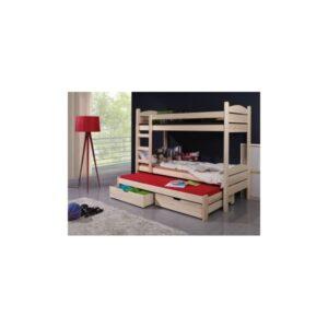 Patrová postel Albert z masivu